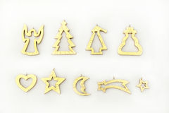 Christmas tree decorations Royalty Free Stock Image