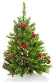 Christmas tree with decorations. Stock Photography