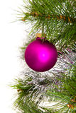 Christmas-tree decorations. 2016 new year Royalty Free Stock Images