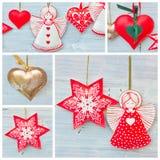 Christmas tree decorations Royalty Free Stock Photos