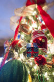 Christmas Tree Decorations Stock Photography