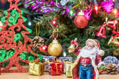 Christmas tree decorations. Royalty Free Stock Photo