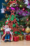 Christmas tree decorations. Royalty Free Stock Photography