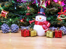 Christmas tree decorations. Royalty Free Stock Photos