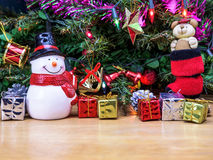 Christmas tree decorations. Royalty Free Stock Images