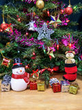 Christmas tree decorations. Stock Photos