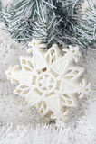 Christmas tree decorations star Royalty Free Stock Photo