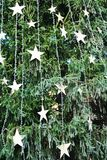 Christmas tree decorations, symbols Royalty Free Stock Photo