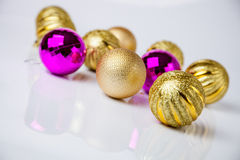 Christmas-tree decorations Royalty Free Stock Photo