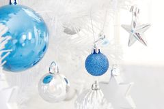 Christmas Tree Decors Royalty Free Stock Photography