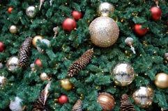 Christmas Tree Dedorations Royalty Free Stock Photos
