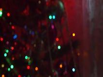 Christmas Tree Defocused Lights stock footage