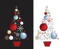 Christmas tree design Stock Photography