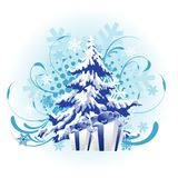 Christmas tree design Stock Photo