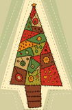 Christmas tree design Royalty Free Stock Image