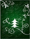 Christmas tree design Royalty Free Stock Photos
