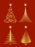 Christmas tree design Stock Image