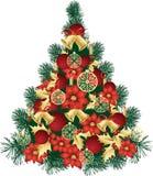 Christmas Tree Design Stock Image