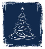 Christmas tree design. Stock Image