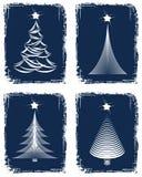 Christmas tree design. Royalty Free Stock Image