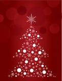 Christmas tree design art vector Royalty Free Stock Image