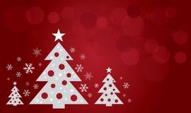 Christmas tree design art vector Stock Image