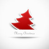 Christmas tree, design Royalty Free Stock Photo