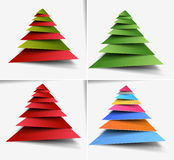 Christmas tree Design Stock Photos