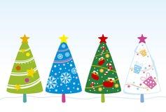 Christmas tree design Royalty Free Stock Photography