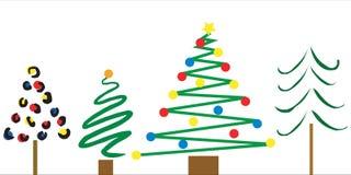 Christmas Tree Designs Royalty Free Stock Photos