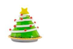 Christmas tree dessert Stock Image