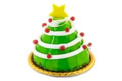 Christmas tree dessert Stock Images