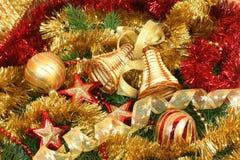 Christmas tree detail Royalty Free Stock Photos