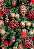 Christmas tree detail Stock Photography