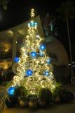 Christmas tree in Disney Springs, Orlando, Florida. Stock Images
