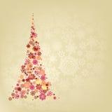 Christmas tree. EPS 8 Royalty Free Stock Image