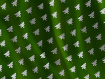 Christmas tree fabric texture Royalty Free Stock Photos