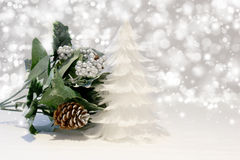 Christmas tree of feathers Stock Photography