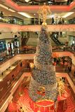 Christmas tree at Festival Walk mall at 2010. The christmas tree at Festival Walk mall at 2010 Stock Image