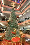 Christmas tree at Festival Walk mall at 2010. The christmas tree at Festival Walk mall at 2010 Royalty Free Stock Photography