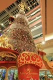 Christmas tree at Festival Walk mall at 2010. The christmas tree at Festival Walk mall at 2010 Royalty Free Stock Images