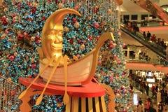 Christmas tree at Festival Walk mall at 2010. The christmas tree at Festival Walk mall at 2010 Stock Photos