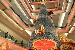 Christmas tree at Festival Walk mall at 2010. The christmas tree at Festival Walk mall at 2010 Royalty Free Stock Image