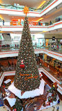 Christmas tree festival walk mall, hong kong Royalty Free Stock Photo