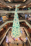 Christmas tree in Festival Walk mall in 2015. Christmas tree in Festival Walk mall in Kowloon Tong on 2015 Stock Photo