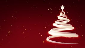 Christmas Tree Festive Animation Stock Photography