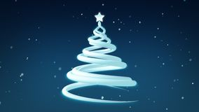 Christmas Tree Festive Holiday Animation stock video