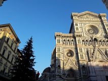 Christmas in Florence royalty free stock image