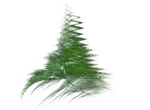 Christmas tree fractal Stock Photography