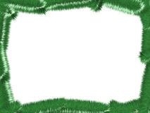Christmas Tree Frame. An image of green christmas tree frame and white place on center vector illustration